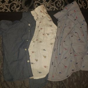 Toddler boy Button down shirts
